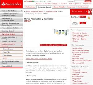 Santander Iupay